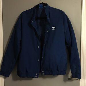 Cobalt Blue Adidas Puffer Jacket